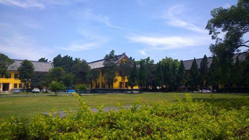 grassland blue sky china