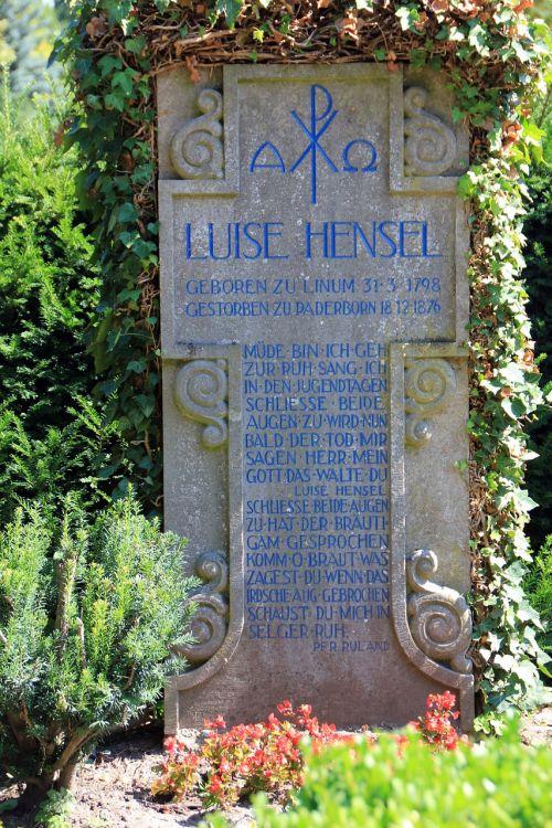 grave tombstone poet