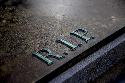 grave cemetery rip