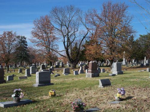grave cemetery headstones