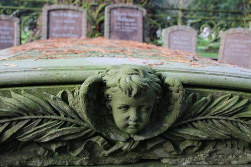 grave stones cross cemetery