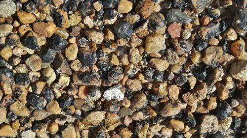 gravel asphalt tar