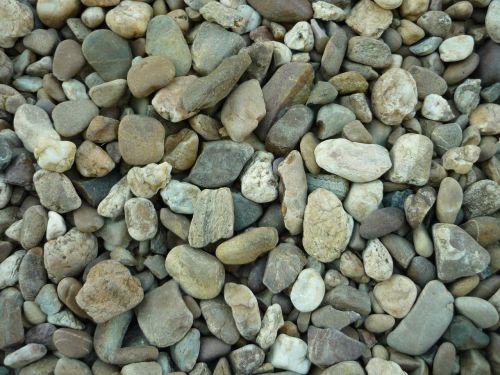 gravel stones boulders