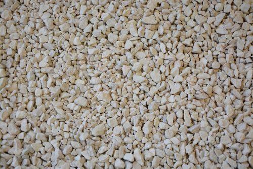gravel white gravel recovery soil