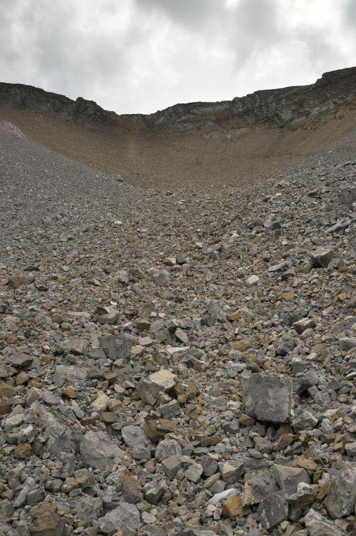 gravel rubble macadam