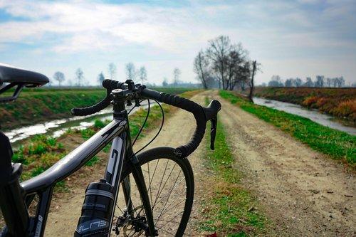 gravel  bike gravel  pathway