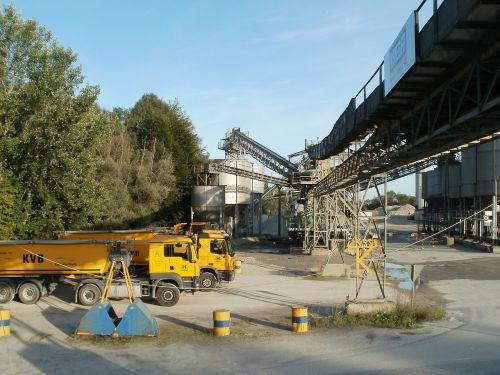 gravel quarry plant