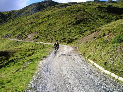 gravel road mountain bike bike