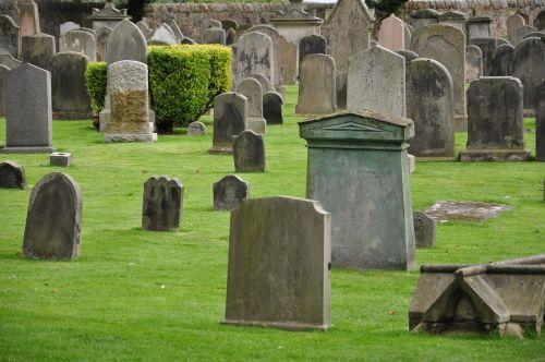 graves tombstones cemetery