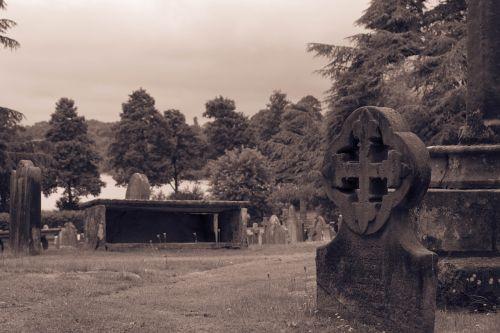gravestone church churchyard