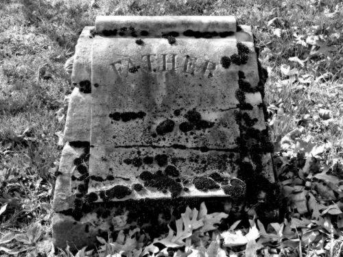 gravestone stone headstone