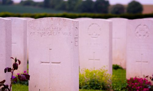 gravestones military graveyard