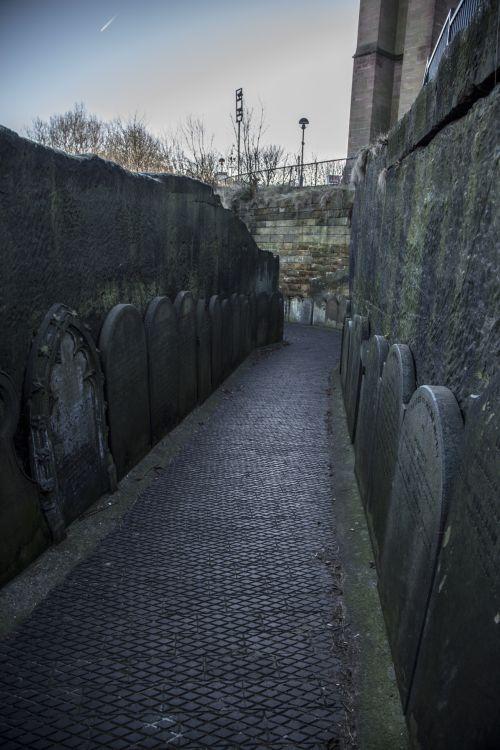 Gravestones In Grounds