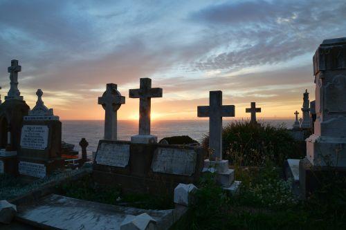 graveyard tombstones mystery
