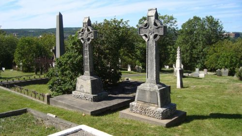 graveyard headstones cemetery