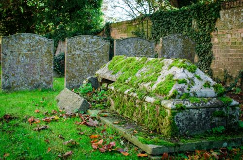 graveyard graves headstones