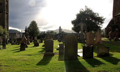 graveyard shadows halloween