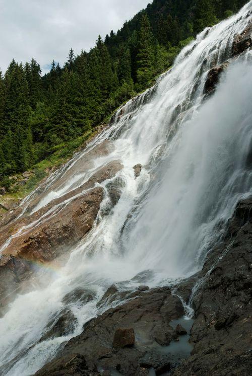 grawa waterfall austria landscape