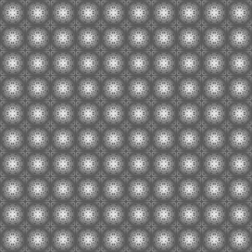 Gray Circular Background