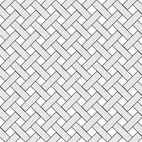 Gray Weave Wicker Pattern