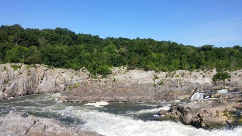 great falls maryland waterfall