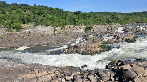 great falls scenery waterfall