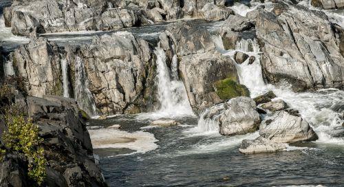 great falls waterfall cascade