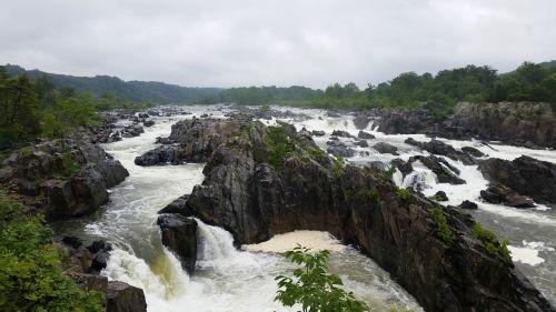 great falls park virginia potomac river