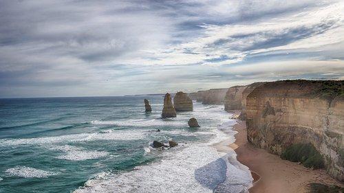 great ocean road  coastline  australia