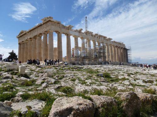 greece acropolis parthenon