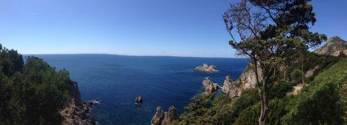greece corfu sea