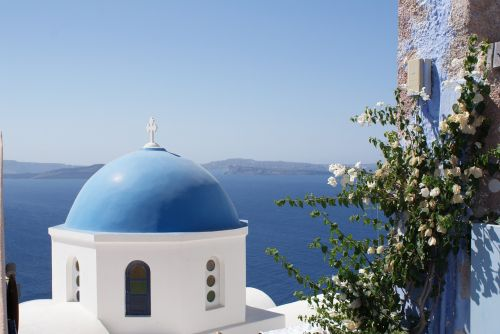 greece santorini church
