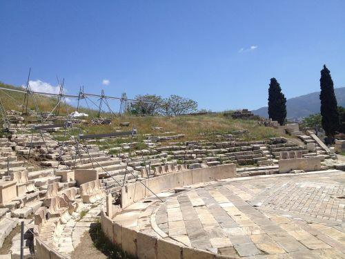 greece amphitheater ancient