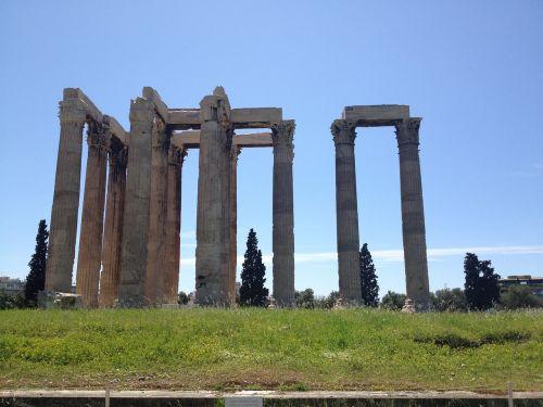 greece athens columns