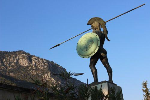greece 300 statue