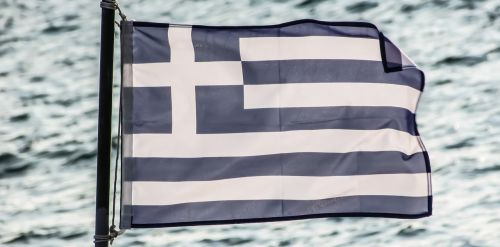 greece flag symbol