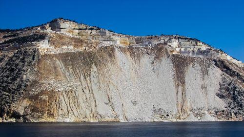 Graikija,Pelio,pusiasalis,kraštovaizdis,kranto,karjeras,pakrantė,magnezija