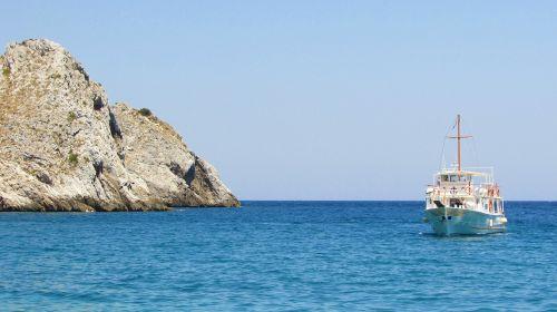 Graikija,slidinėjimas,kastro,uolos pakrantė,uolos,jūra,kranto,sala,valtis,gamta,geomorfologija,Rokas,pakrantė,kraštovaizdis,Viduržemio jūros
