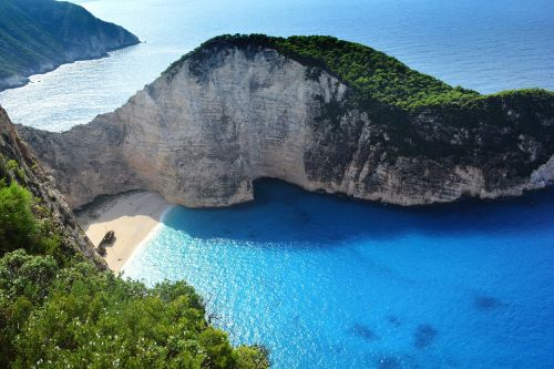 greece navagio beach beach castaway