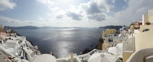 greece santorini sea