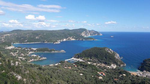 greece corfu view