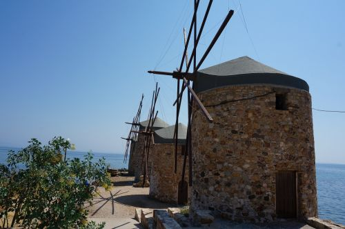 greece chios mill