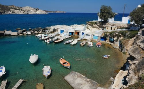 greece greek island milos