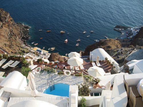 greece santorini travel
