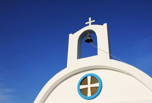 greece chapel bell