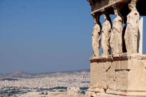 greece athens column