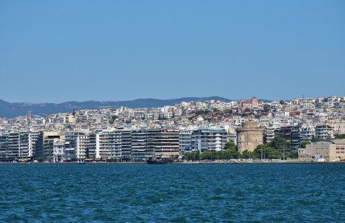 greece thessaloniki city