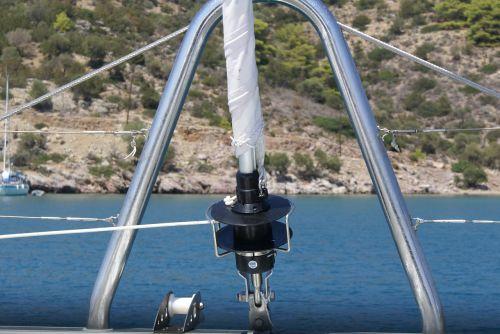 greece sailboat catamaran