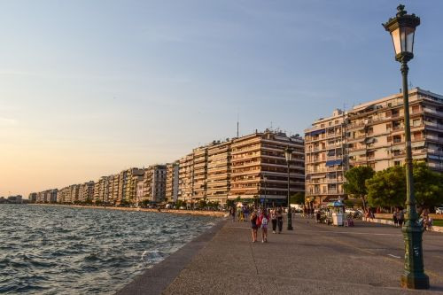 greece thessaloniki promenade