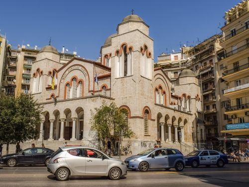 greece thessaloniki church